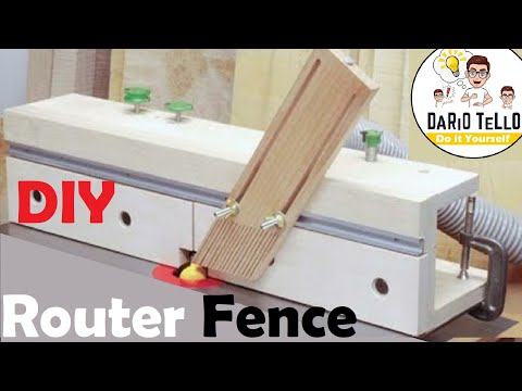 Guida banco fresa fai da te diy build router table fence for Banco fresa kreg