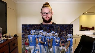 Rugby Player Reacts to MATTHEW STAFFORD Detroit Lions QB 2009-2018!