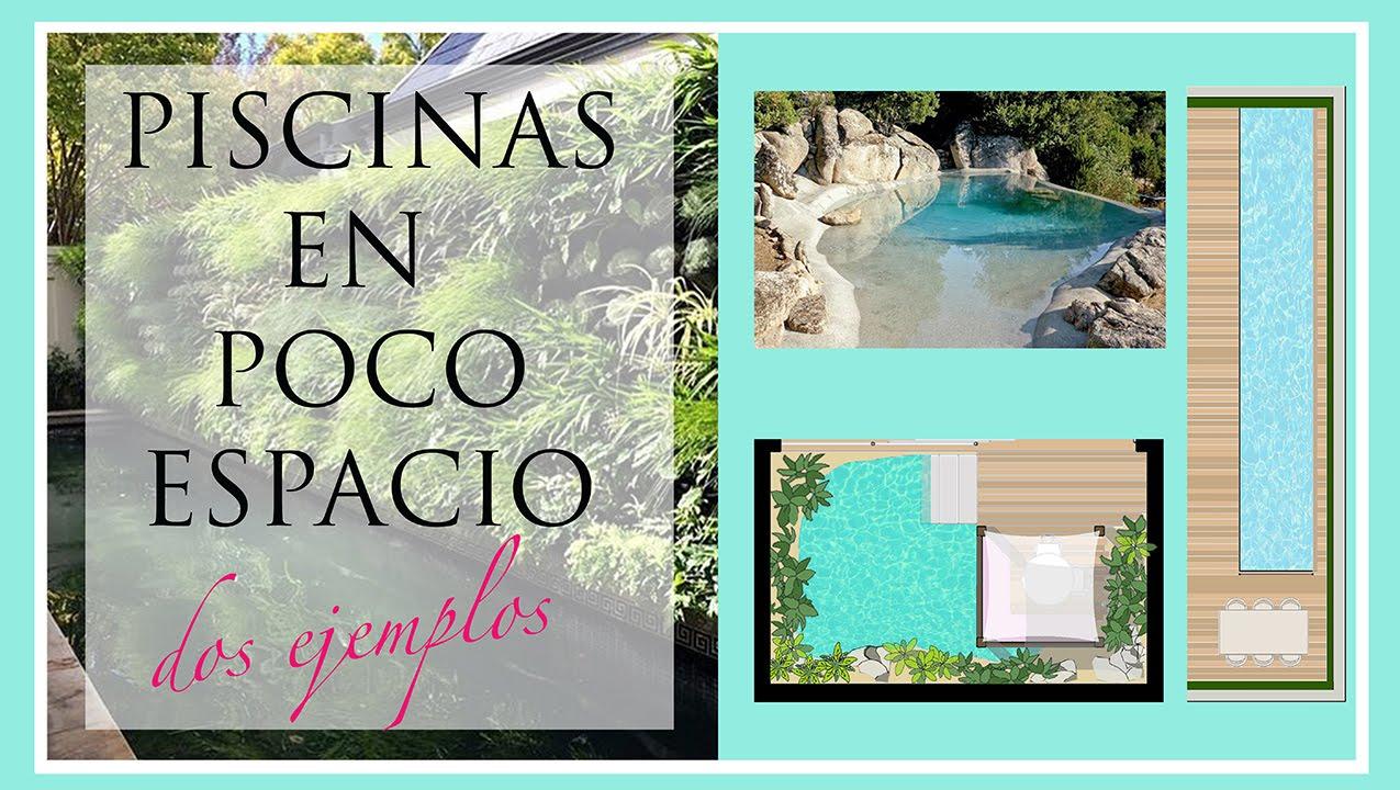 C mo dise ar piscinas en poco espacio dos ejemplos youtube for Piscinas en poco espacio