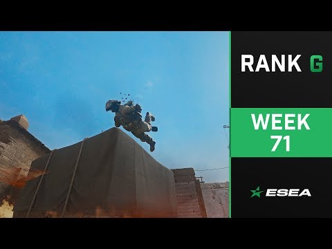 ESEA Rank G CS:GO Highlights of The Week - Episode 71 from YouTube · Duration:  1 minutes 3 seconds