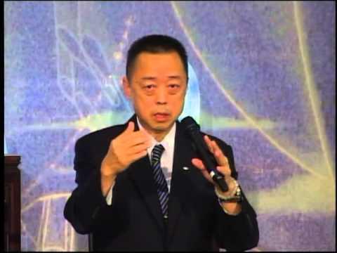 全球慈濟志工總督導黃思賢主講「靜寂清澄 守之不動」