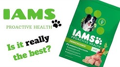IAMS MINICHUNKS DOG FOOD REVIEW   CHRISSYS DOG HOUSE