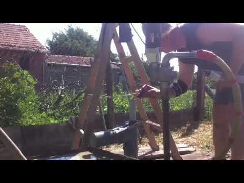 Busenje Bunara Drilling Rig Bohrbrunnen 2 Youtube