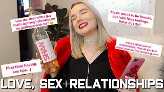 drinking rosé and answering your questions about love, sex, & advice