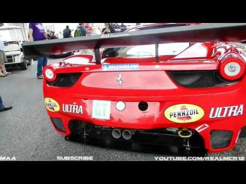 Ferrari 458 Italia GT Departure at Baltimore Grand Prix 2011!!