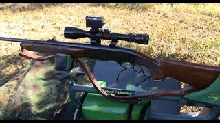 Early 80's gun chambered in the 6mm Remington. Always a fine shoote...