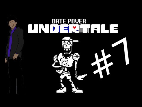 Let's Play Undertale [Pacifist Walkthrough] Part 7: Dating Simulator With Papyrus