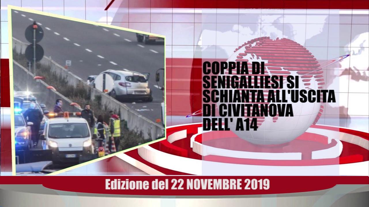Velluto Senigallia Tg Web del 22 11 2019
