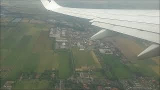 décollage d'avion del'aéroport de Bremen  allamande