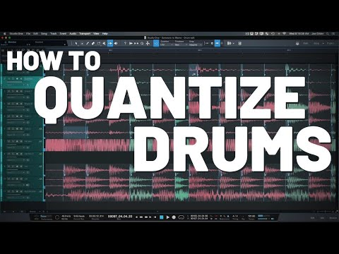 How to Quantize Drums