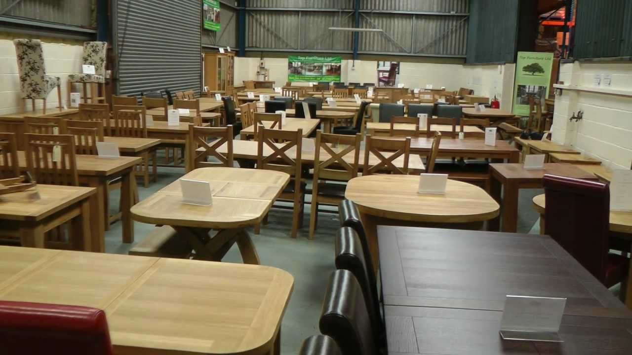 Top Furniture Uttoxeter Staffordshire Oak Furniture Warehouse Showroom ST14  8AX