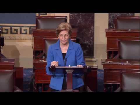 Senator Warren Stands Against Neomi Rao's Nomination to OIRA