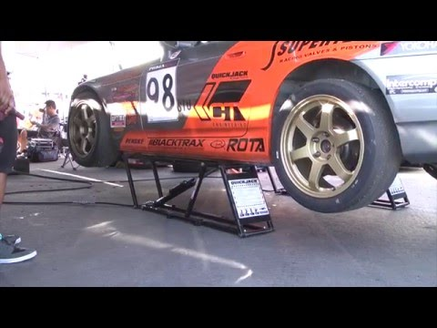 QuickJack Car Lift for the home Garage and Track