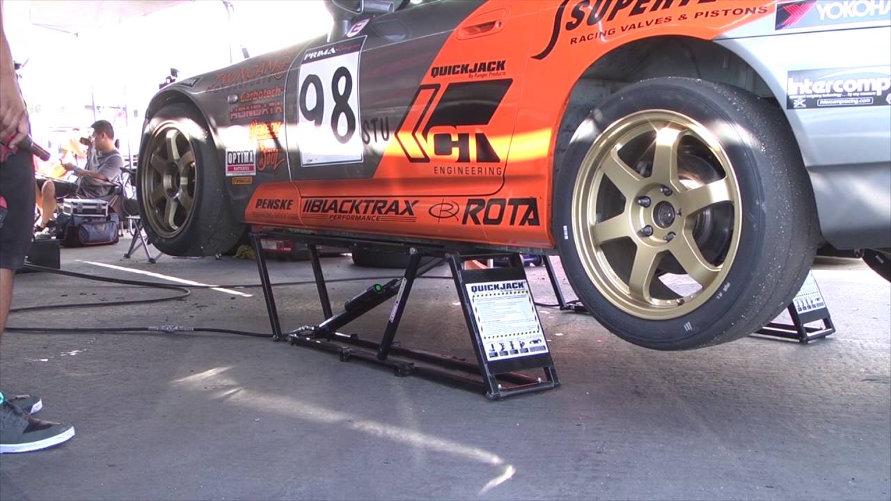 Quickjack Car Lift For The Home Garage And Track Youtube