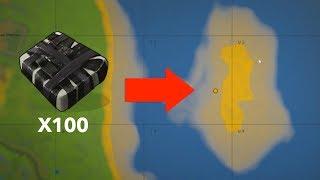 i JUST dropped NEARLY 100 C4 raiding this ISLAND base...