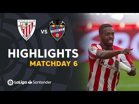 Ath. Bilbao Levante Goals And Highlights