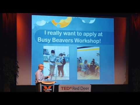 Pushing Boundaries in Education (MicroSociety) | Allan Baile | TEDxRedDeer