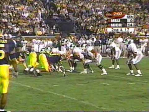 2000: Michigan 14 MSU 0 (2/2)