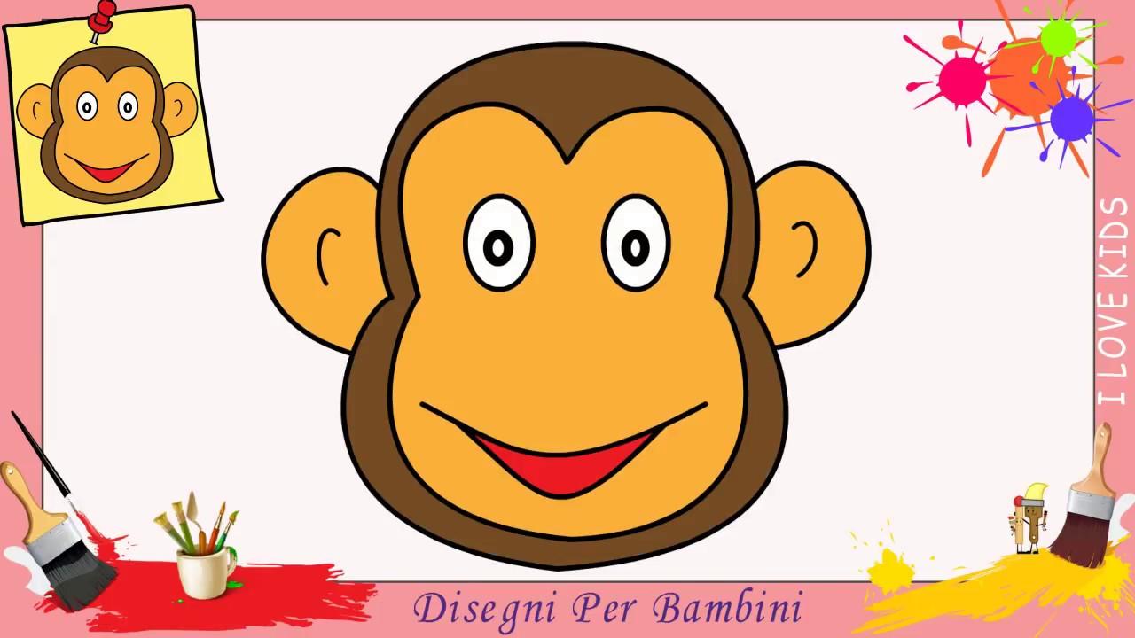 Come Disegnare Una Scimmia Facile Passo Per Passo Per Bambini 7