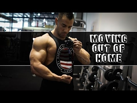 Moving Out of Home | Chest Workout | Vlog