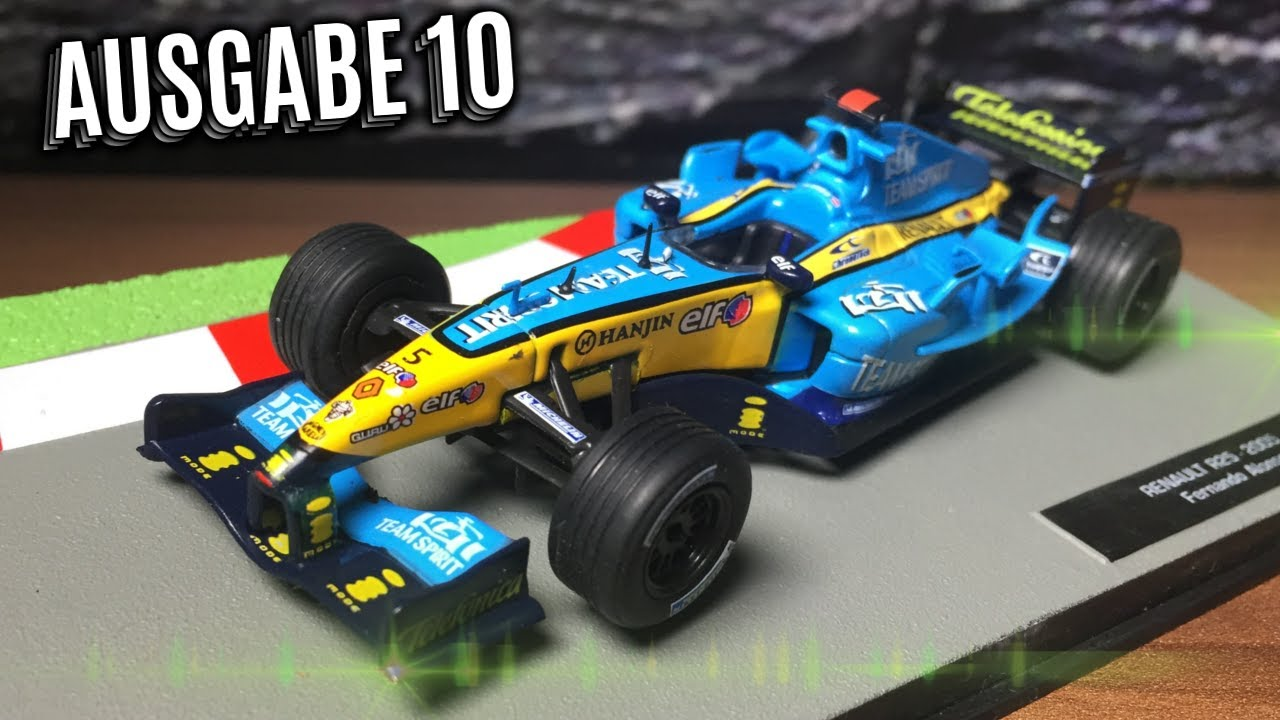 f1 formel 1 rennwagen kollektion 10 fernando alonso. Black Bedroom Furniture Sets. Home Design Ideas