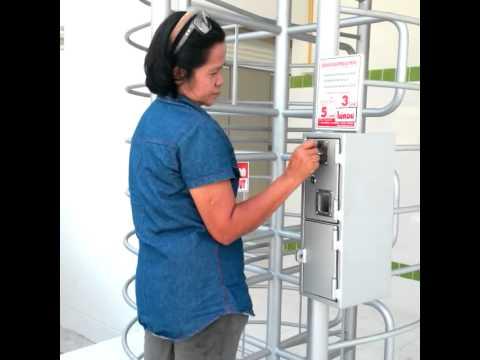 เครื่องเก็บค่าบริการห้องน้ำ ตลาดเปิดใหม่ ซ.สามห่วง บางปู
