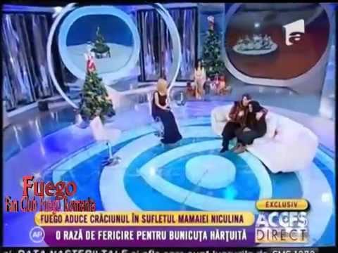 """FUEGO - """"Craciun in Romania"""" (""""Acces direct"""", Antena 1)"""
