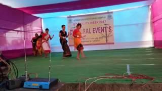 Assamese cultural mix dance