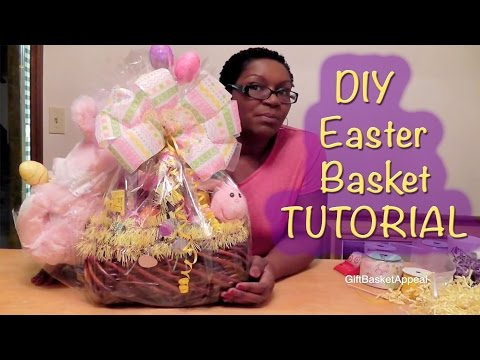 Easter Basket Tutorial - Dollar Tree DIY