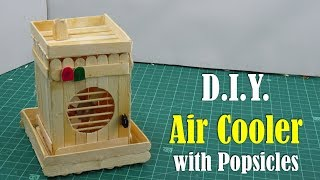 DIY: Air Cooler with Popsicles - How to make
