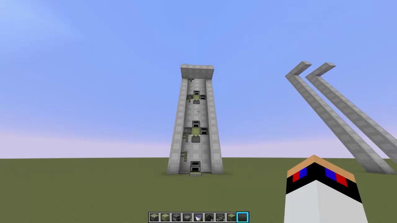 Как в майнкрафте сделать лифт