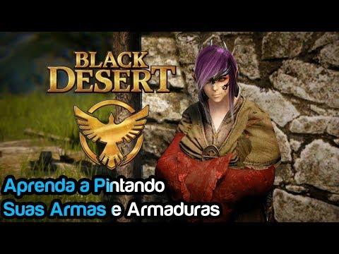 Black Desert - Aprenda A Pintar Suas Armas E Armaduras