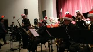 Jazz band Holiday concert December 8, 2016
