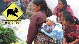 Voyage au Guatemala Les marchés de Chichicastenango Maryse & Dany © Youtube