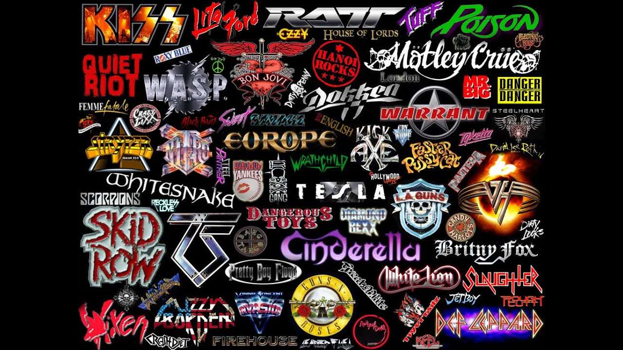 Top 10 glam metal bands youtube for Classic 90 s house music list