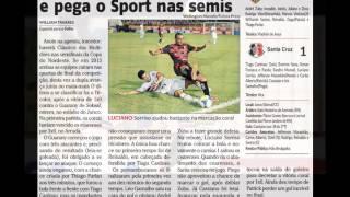 [Áudio] 26/02/2014 - Guarany/CE 0x1 Santa Cruz - Copa do Nordeste - Romualdo Marques