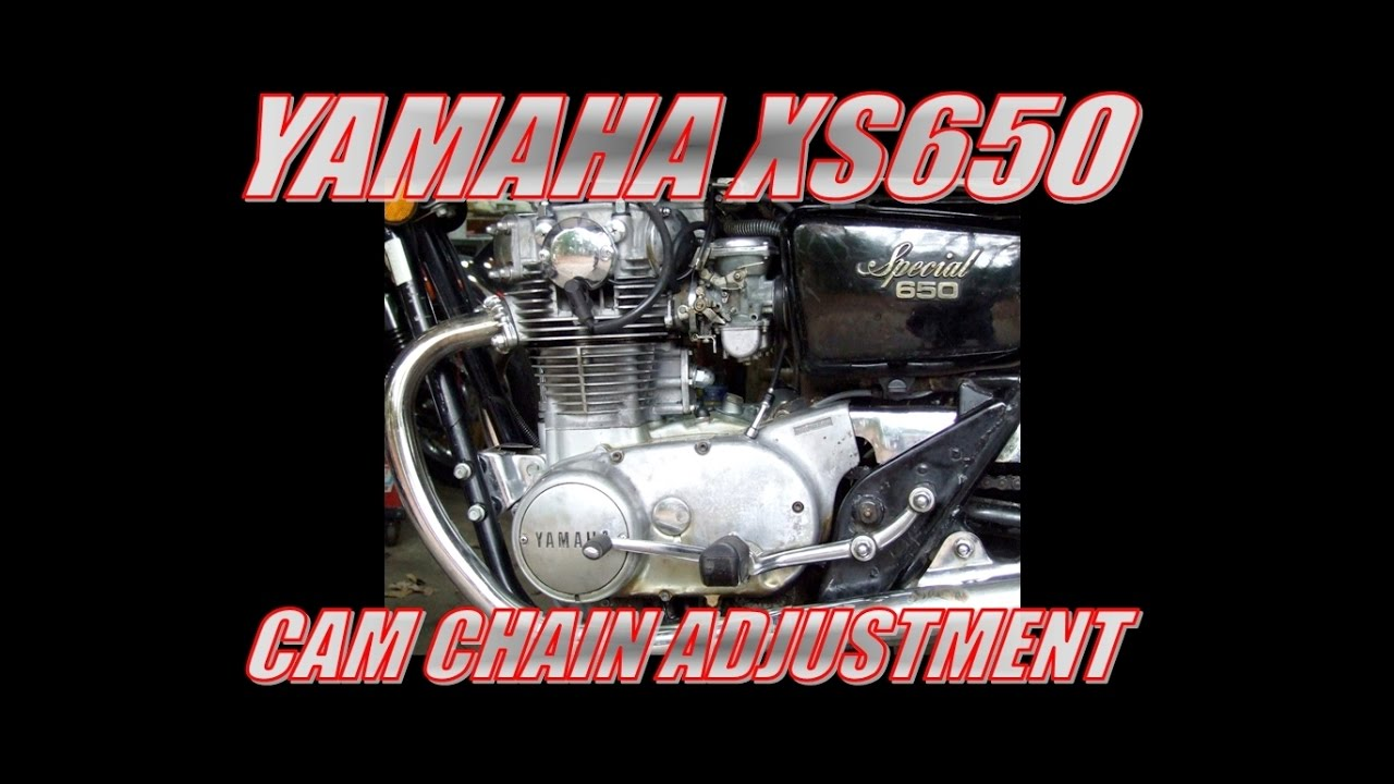 Yamaha Xs650 cam chain adjustment and ignition timing – A