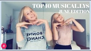 TOP 10 MUSICAL.LYS JUNE - izaandelle