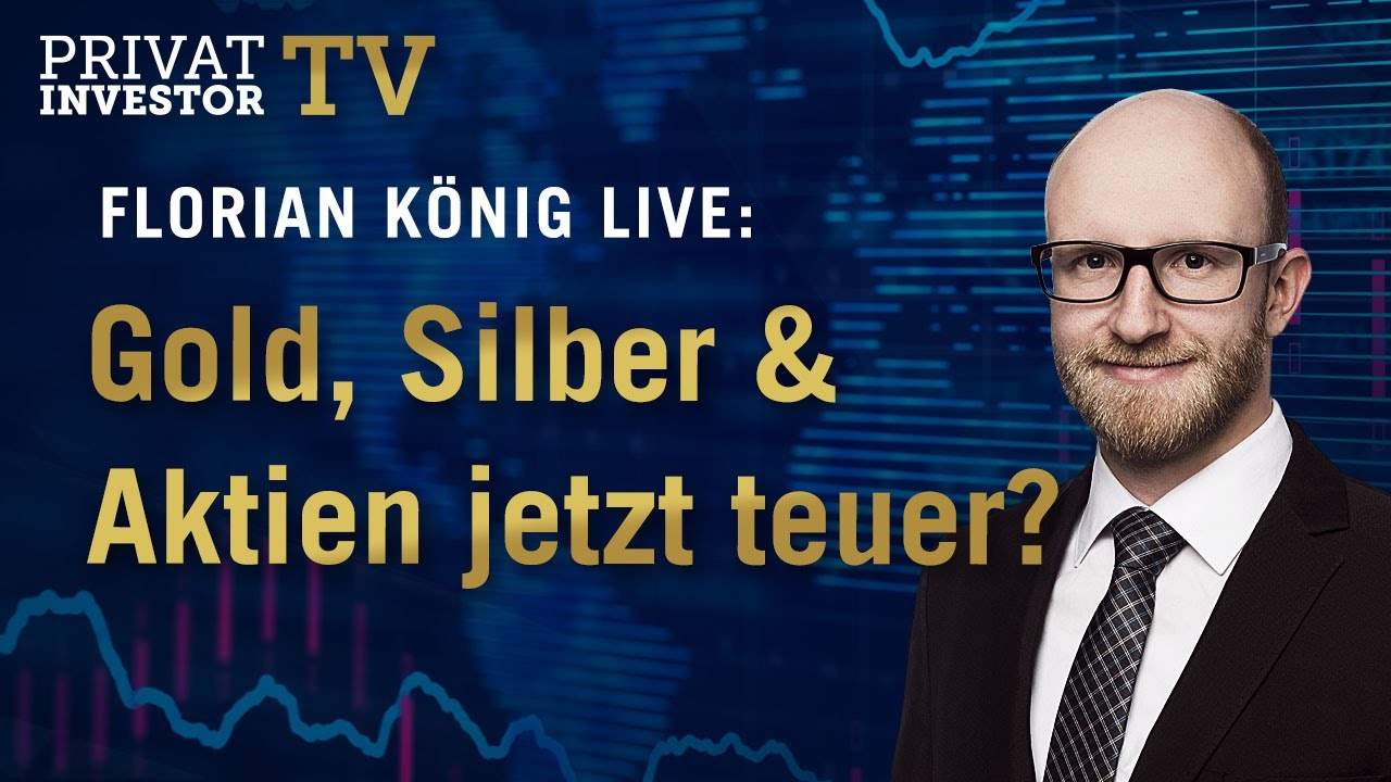 Flucht in die Sachwerte: Sind Gold, Silber & Aktien jetzt teuer?