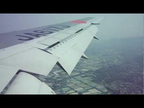 Landing at Songshan (TAIPEI) airport