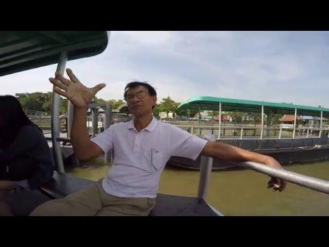 เที่ยวตลาดน้ำเช้าๆ ที่บางน้ำผึ้ง นั่งเรือที่บางนาได้