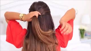 прически на длинные волосы видео уроки