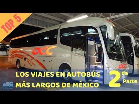 Los 5 viajes en autobús más largos de México. Segunda Parte.
