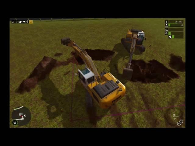 Let's Play Bau-Simulator 2015   Stadion-Bad Ausbaggern   Folge #025