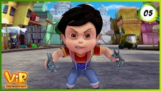 Vir: The Robot Boy | Vir vs Jinn Uncle | Action Show for Kids | 3D cartoons