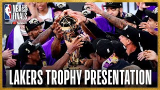 Los Angeles Lakers NBA Championship Celebration