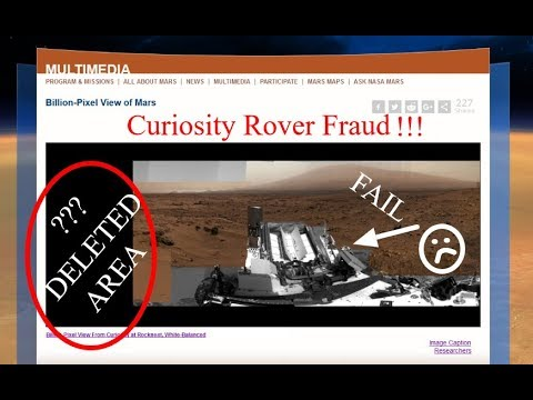 Curiosity Rover FRAUD