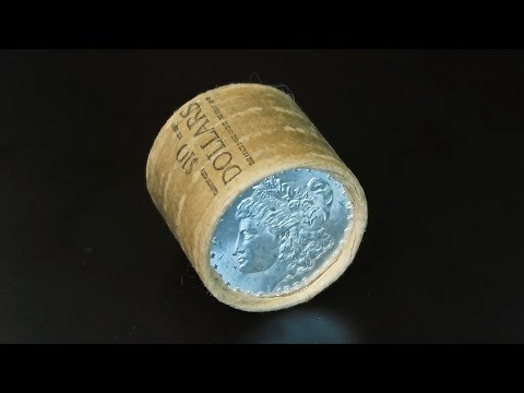 Unsearched Morgan Silver Dollar Rolls From EBay!  Ebay Coin Roll Hunting
