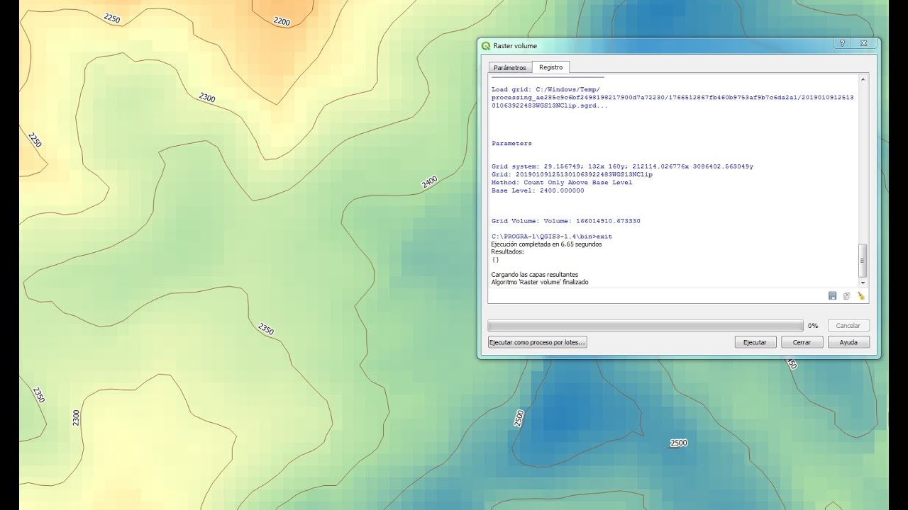How to calculate a Terrain Volume with QGIS3 - Tutorial — Hatari Labs