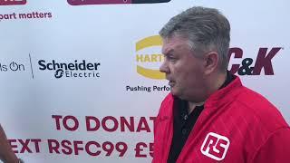 Pre Match - Andy Keenan